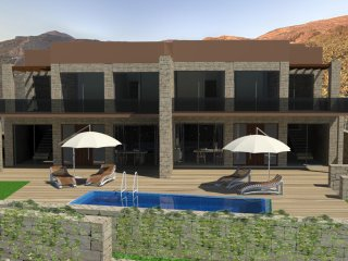 Newly Build Pool Villa Elpida at Falassarna, near the Beach