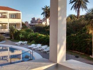 Apartment mit Blich auf den Pool