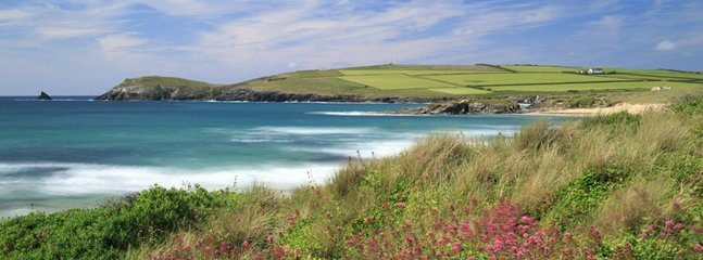 Just 200 meters from Harlyn Bay Beach