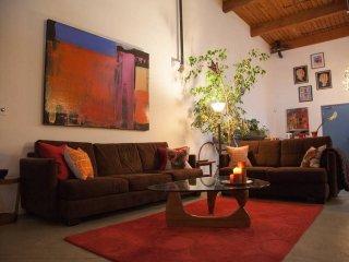 Architectural, Open, and Bright Art Loft