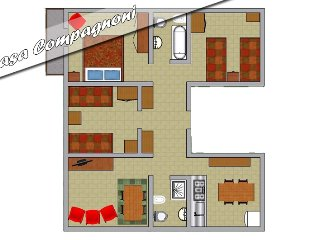 Appartamento per le vacanze a Bormio