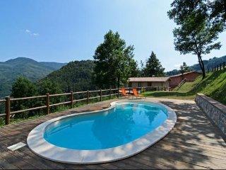 2 bedroom Villa in Molazzana, Tuscany, Italy : ref 5474306