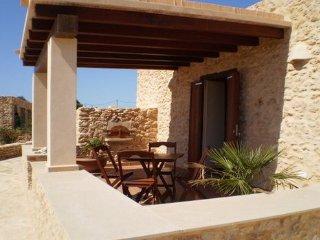 Típica casa de Formentera