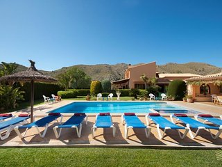 6 bedroom Villa in Cala San Vicente, Balearic Islands, Spain : ref 5504930