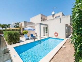 4 bedroom Villa in Can Picafort, Balearic Islands, Spain : ref 5505089