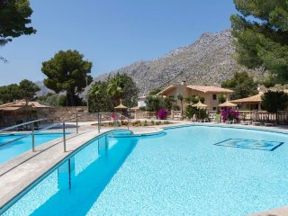 6 bedroom Villa in Cala San Vicente, Balearic Islands, Spain : ref 5505773