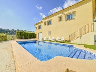 4 bedroom Villa in Moraira, Valencia, Spain : ref 5506295