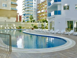 1+1 premium apartment (sw. pools, SPA, BBQ zone)