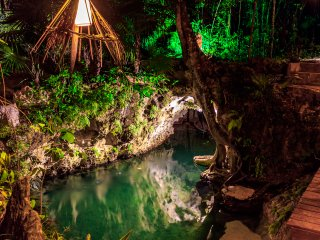 Enjoy this beautiful ecohotel in the middle of the jungle