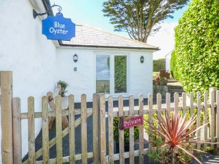 BLUE OYSTER ground floor, spacious accomodation, woodburner in Mullion, Ref