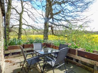 WITTON VIEW COTTAGE, 17th century stone cow byre, WiFi, River Wear 5 mins walk, Hamsterley
