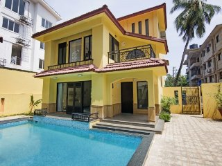 Elegant 3-bedroom villa, 1.9 km from Calangute beach