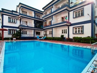 Elegantly furnished 1BHK apartment, a short walk from Baga beach