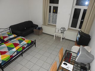 Spacious room, TV, LAN, PC, FREE Parking on street, Leipzig