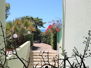 Le Dune holiday home in Baia Verde Gallipoli facing the beach