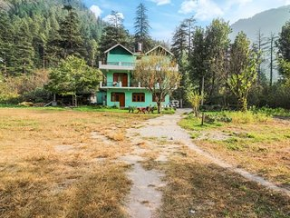 Private room in a cosy homestay, close to Parvati River