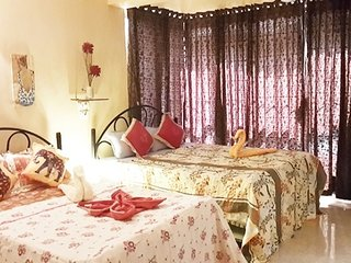 Cosy 2-BR stay for friends, close to Calangute Beach