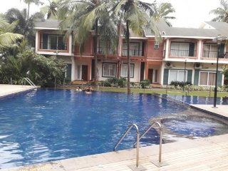 Tastefully done 3-BR villa with a pool, close to Calangute Beach
