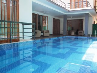 Commodious 3-bedroom pool villa, 1 km from Calangute Beach
