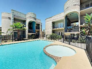 Ground-Floor Condo in Gated Complex Near Beach – Shared Pool and Kiddie Pool