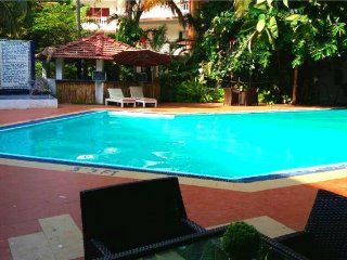 Comfortable studio apartment with pool, close to Baga beach