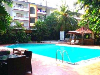 Comfortable apartment for four, near Baga beach