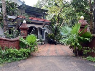 6-bedroom villa with a traditional touch in Benaulim