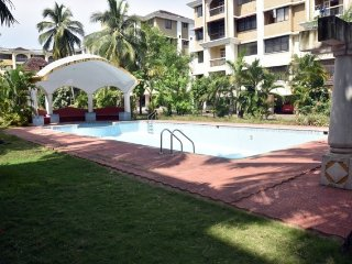 3-bedroom well-furnished villa, close to Colva Beach