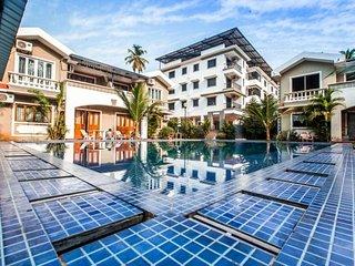 Luxurious pool villa ideal for families, near Calangute beach