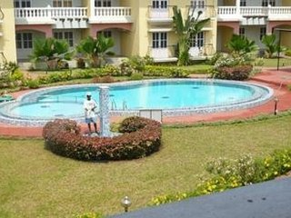 Well-furnished 2-bedroom apartment for five, 500 m from Colva beach