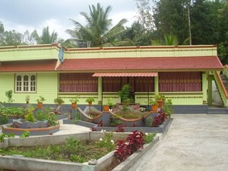 Well maintained rooms in a homestay with a beautiful garden
