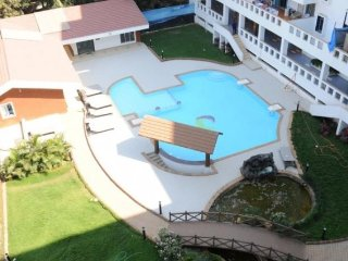 Well-furnished villa with a swimming pool