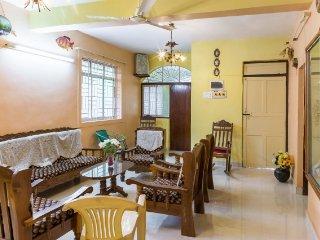 5-bedroom villa, 1.8 km from Benaulim beach