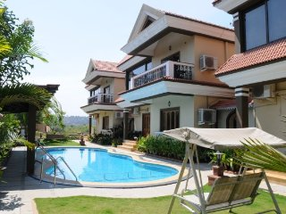 Majestic 3-BHK villa with a sun-splashed pool deck & jacuzzi