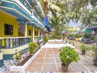 1-bedroom tranquil abode, 1 km from Arambol Beach