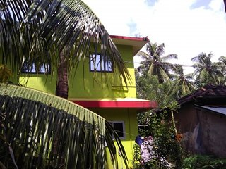 Comfortable 3-BHK stay for a family close to Morjim beach