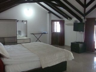 Peaceful abode for a group get-together, 650 m from Anjuna beach