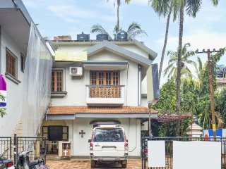 Functional single bedroom, ideal for backpackers, 1.4 km from Calangute Beach