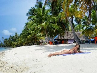 "San Blas Islands Big Orange Island ""Narasgandub Dummad' Guna Yala"