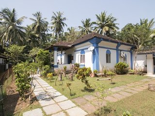 Spacious, pet-friendly 3-bedroom villa close to Calangute beach