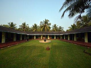 Beachside accommodation for 3, set amidst serene environs