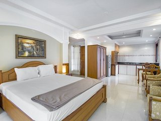 Relaxing abode for three, 650 m from Candolim Beach