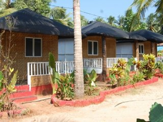 Rustic cottage for a quiet and relaxing stay at the Agonda beach