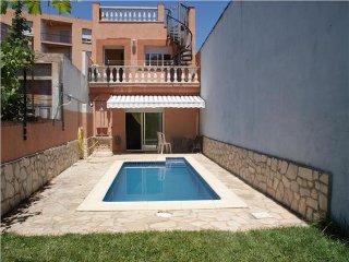 Preciosa casa céntrica con piscina privada, jardín y barbacoa