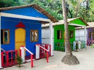 1-BR cottage ideal for bagpackers, near Palolem beach