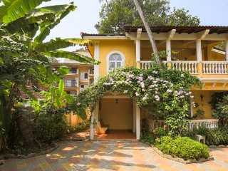 Tranquil 3-bedroom villa, a 10 min drive away from Calangute beach