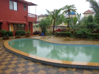 Well-appointed stay with pool for close-knit friends