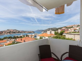Apartment Elafite Islands View - One-Bedroom Apartment with Balcony and Sea View