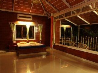 Exquisite, romantic villa room with an indoor pool