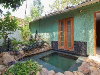 1-BR villa with a private pool, near Anjuna Beach